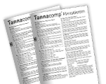 Tannacomp® Packungsbeilagen International